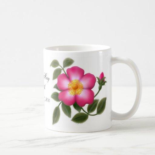 Customizable Wild Rose Mug
