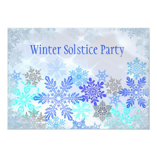 Customizable Winter Solstice Party Invitation