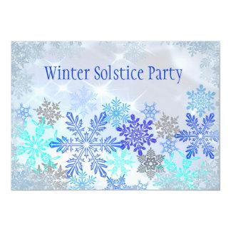 """Customizable Winter Solstice Party Invitation 5"""" X 7"""" Invitation Card"""