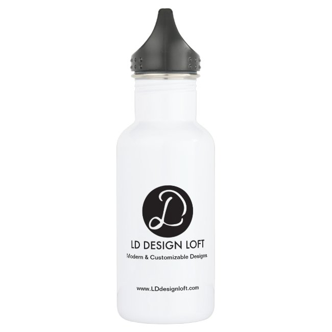 Customizable with Your Logo here, Promotion Water Bottle
