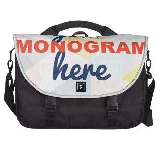 Customizable with your Monogram/Logo Computer Bag
