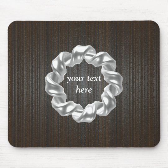 Customizable-wooden background mouse pad