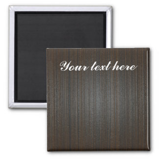 Customizable wooden BG 2 Inch Square Magnet
