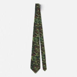 Customizable Woodland Camo Neck Tie