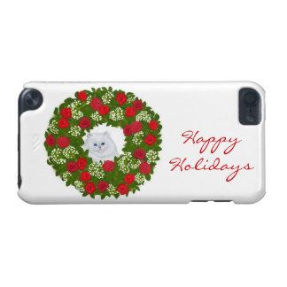 Customizable Wreath Kitten iPod Touch Case