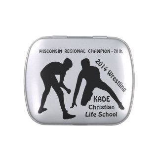 Customizable Wrestling Gifts with YOUR TEXT Jelly Belly Tins