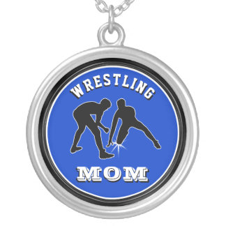 Customizable Wrestling Mom Necklace in Your COLORS