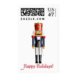 Customizable Xmas Nutcracker Postage
