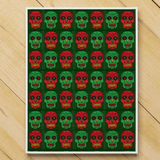 Customizable Xmas Sugar Skulls Countdown Calendars