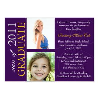 Customizable Year Graduate Announcement