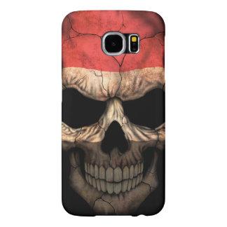 Customizable Yemen Flag Skull Samsung Galaxy S6 Case