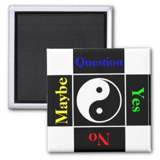 Customizable Yin Yang Question Magnet