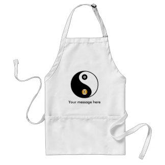 Customizable YinYang pool apron