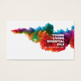 Essential Oil Business Cards Templates Zazzle