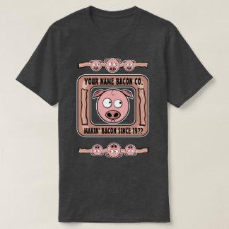 Customizable (YOUR NAME) Bacon Company T-Shirt