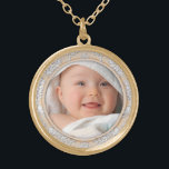 "Customizable Your Photo Round Necklace<br><div class=""desc"">Customizable Your Photo Round Necklace</div>"