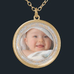 """Customizable Your Photo Round Necklace<br><div class=""""desc"""">Customizable Your Photo Round Necklace</div>"""