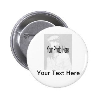Customizable - Your Photo & Text Buttons