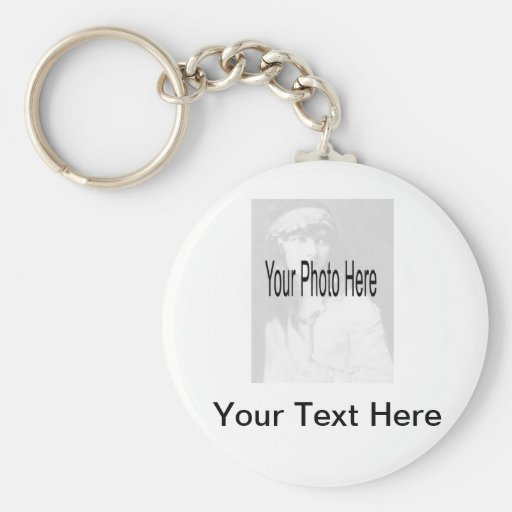 Customizable - Your Photo & Text Key Chain