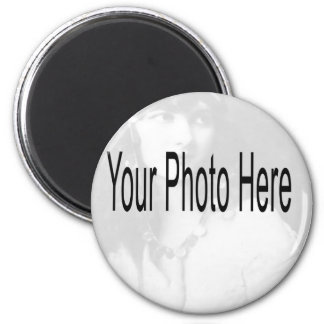 Customizable - Your Photo & Text Magnet
