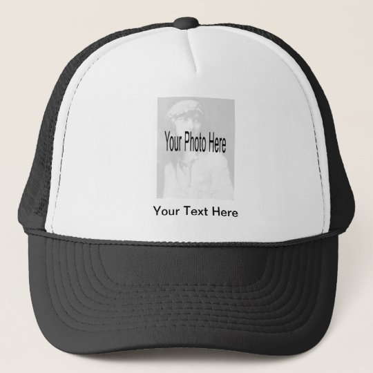 Customizable - Your Photo & Text Trucker Hat