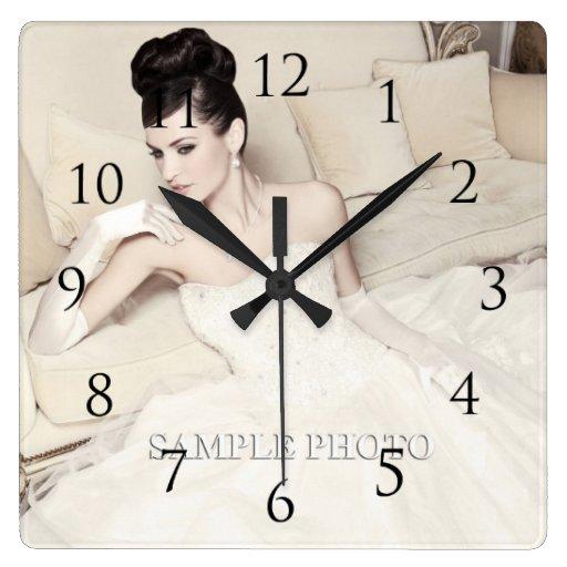 Customizable Your Photo Wall Clock