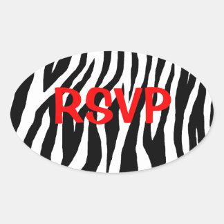 Customizable Zebra Stickers