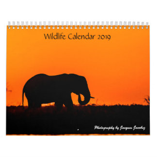Customization Wildlife Calender Calendar