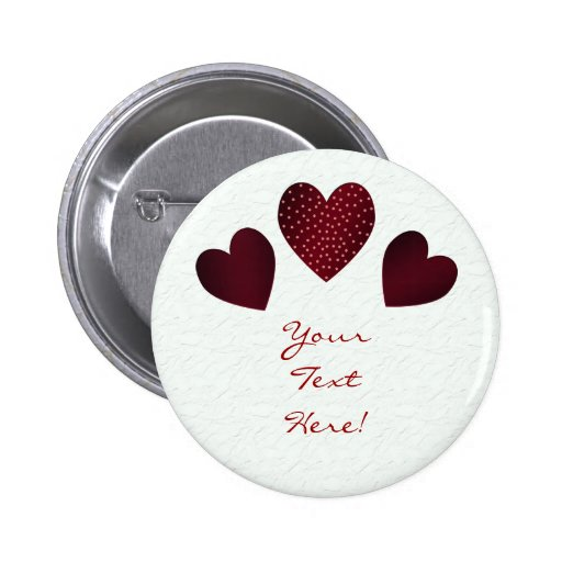 Customizavle Hearts Button