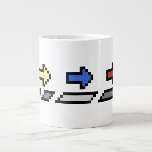 CUSTOMIZE _ 6 10 or 20 oz 3 Arrows Mug