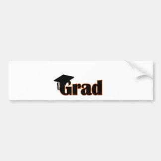 Customize a Grad Design Bumper Sticker