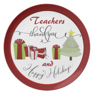 Customize A Holiday Appreciation Plate