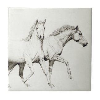 Customize a Horse Ceramic Tile