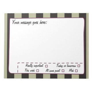Customize a Notepad