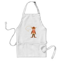 Customize A Viking Cartoon Adult Apron