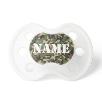Customize able Camouflage Pacifier