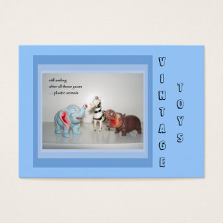 Customize-able Vintage Toy Dealer Business Cards