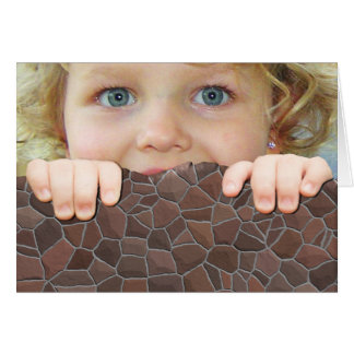 Customize Add your Childs Photo Kid Greeting Card