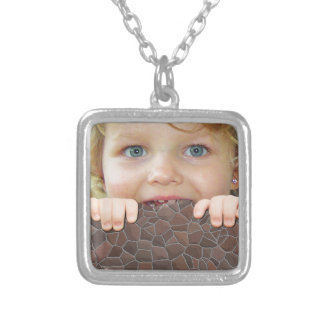 Customize Add your Childs Photo Kid Necklaces