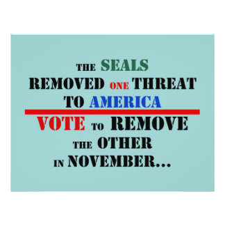 Customize Anti Obama flyer