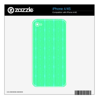 Customize Background Fluorescent Green Pattern iPhone 4S Skins