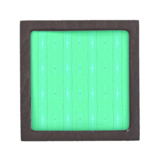 Customize Background Fluorescent Green Pattern Jewelry Box