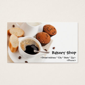 Customize Bakery Shop Business Cards