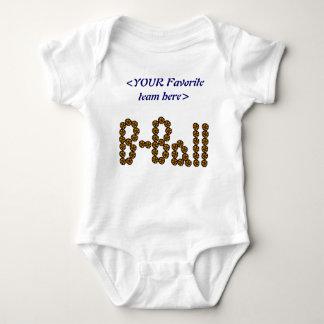 Customize Basketball Team Infant Creeper