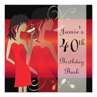 Customize Birthday Bash Party Invitation