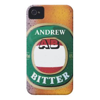 Customize Bitter Beer iPhone 4 Case
