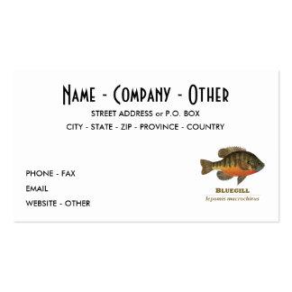 Customize Bluegill, Bream Business Card