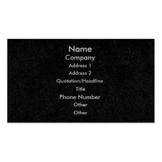 Customize business cards black speckled denim