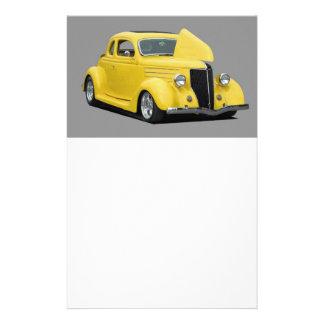 customize car flyer