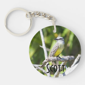 Customize Couch's Kingbird of the Yucatan Keychain